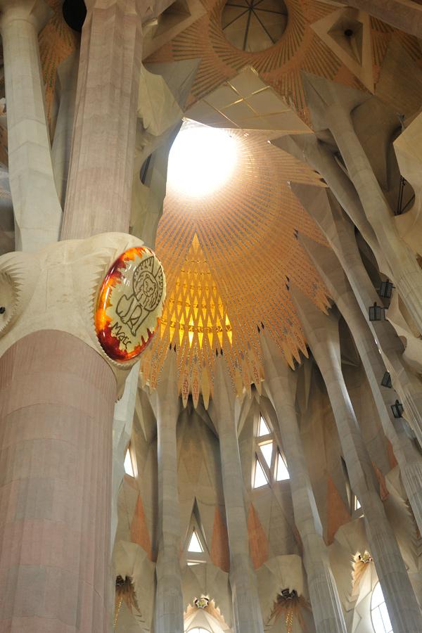La sagrada familia interior 4 by wildplaces on deviantart for La sagrada familia inside
