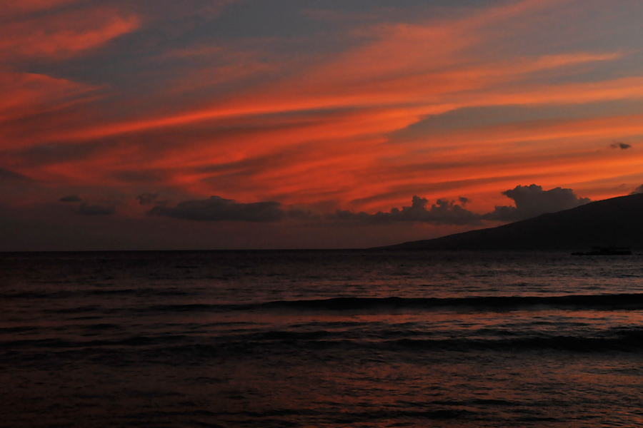 Kaanapali sunset 1 by wildplaces