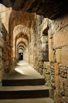 Linlithgow Palace walkway 1