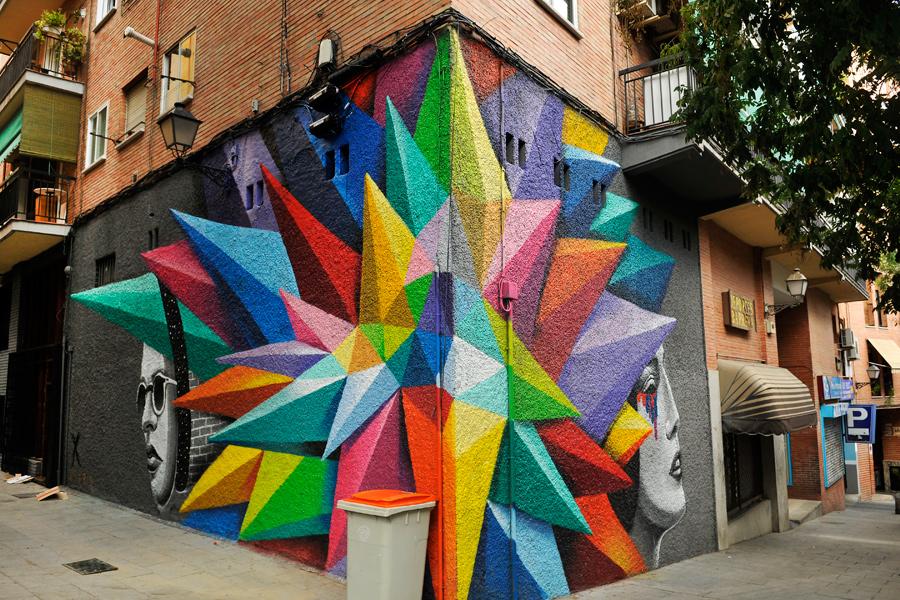 Madrid street art 1 by wildplaces
