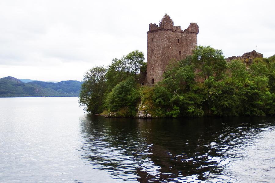 Urquhart Castle 1, Loch Ness, Scotland by wildplaces