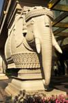 Leela Palace elephant, Delhi