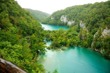 Overlooking Plitvicka Jezera 1