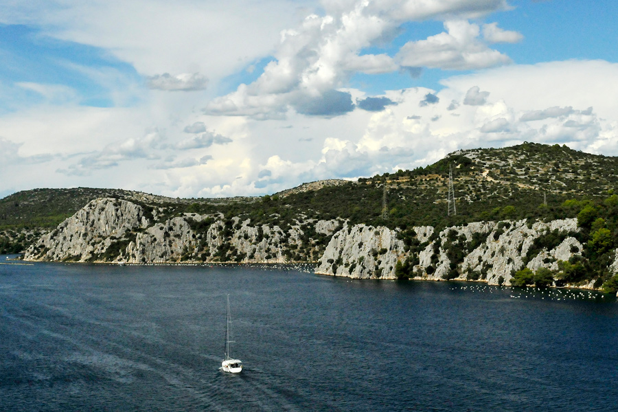 View from a bridge - Croatia by wildplaces