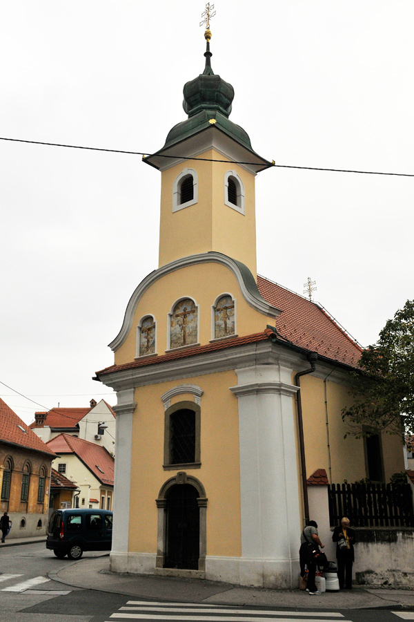 St Dismas Chapel in Zagreb by wildplaces