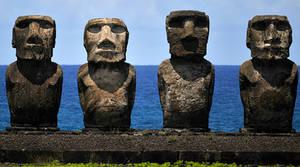 Moai foursome 1