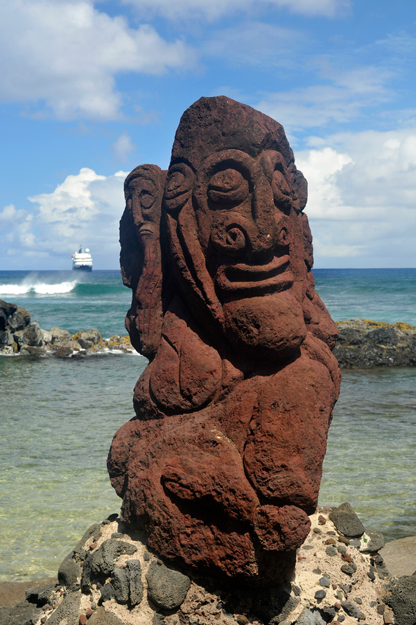 Stone carving easter island by wildplaces on deviantart