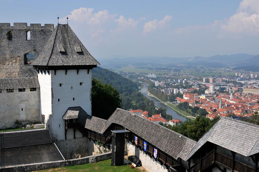Celje Castle 1, Slovenia by wildplaces