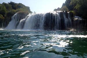 Krka falls, Croatia 1 by wildplaces