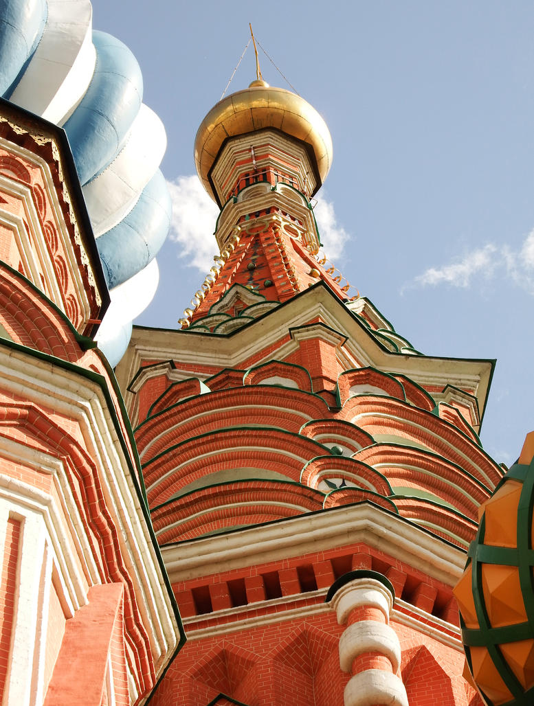 St Basil's Cathedral detail 1 - Moscow by wildplaces