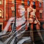 Moscow window display reflections 1
