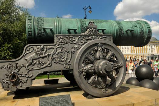 Tsar Cannon 1 - Kremlin, Moscow