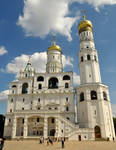 Kremlin Cathedral 1 - Moscow by wildplaces