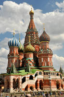 St Basil's Cathedral 1 - Moscow