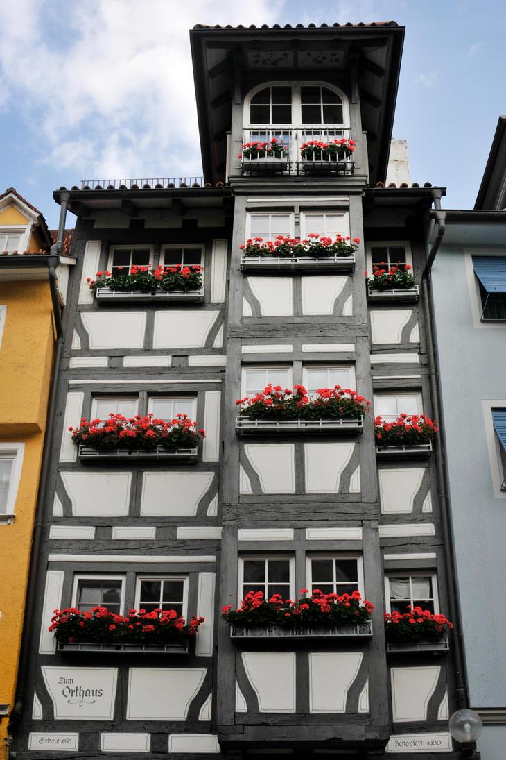 Windowboxes of Lindau 1 by wildplaces