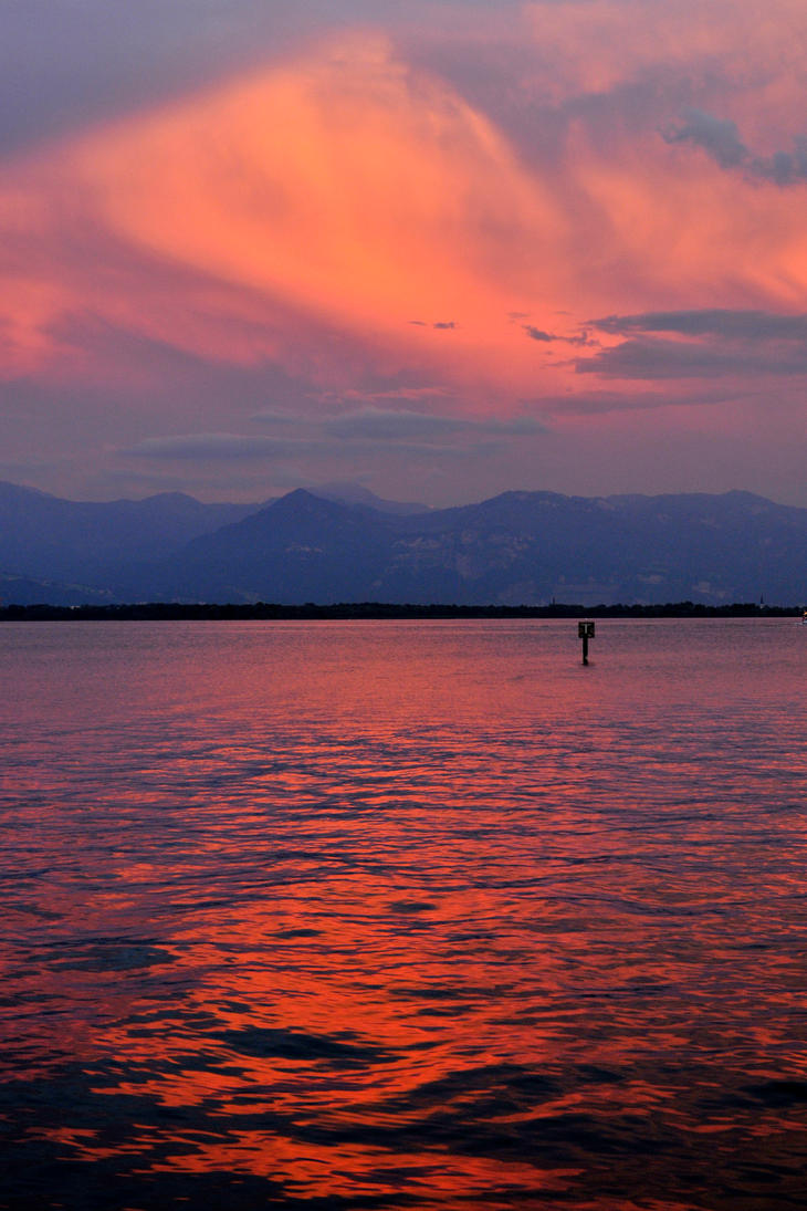 Bodensee sunset 3 by wildplaces