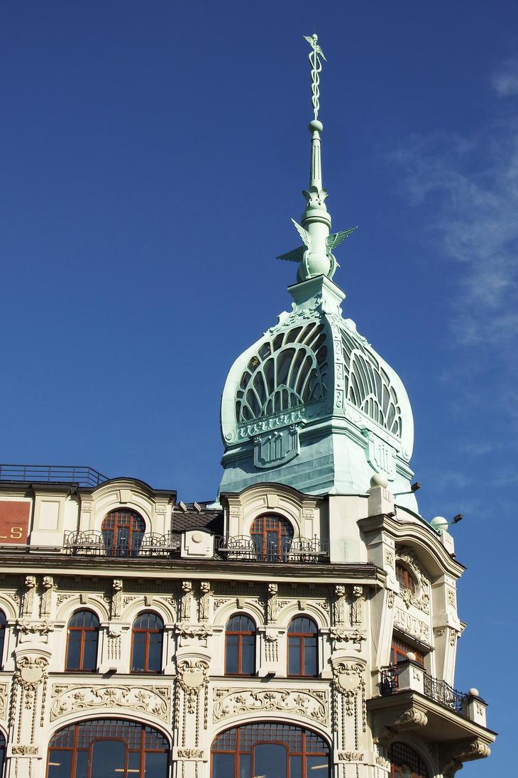 Art Nouveau in St Petersburg 2016 by wildplaces