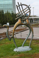 Astana sculpture 1 by wildplaces