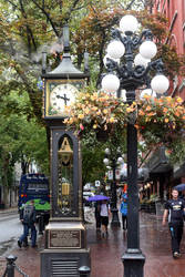 Gastown Steam Clock 2 - Vancouver by wildplaces
