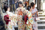 Cosplay in Gion, Kyoto 1 by wildplaces