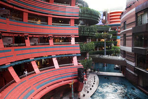 Canal City shopping centre 1 - Fukuoka by wildplaces