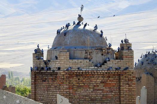 Islamic tomb - Kyrgyzstan