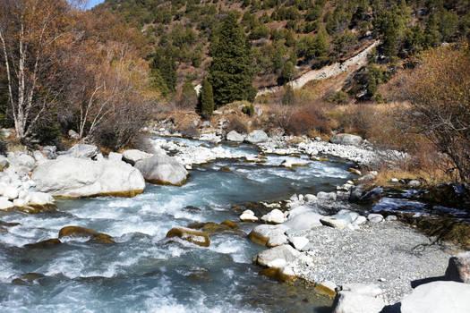 Mountain stream 2 - Kyrgyzstan