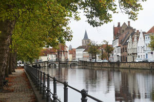 Bruges canal views 2 by wildplaces