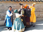 Changdeokgung Palace cosplay 1 - Seoul by wildplaces