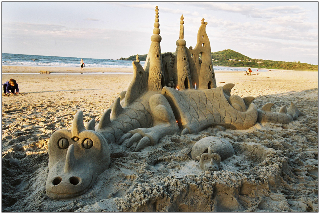 Byron Bay sand model 2 by wildplaces