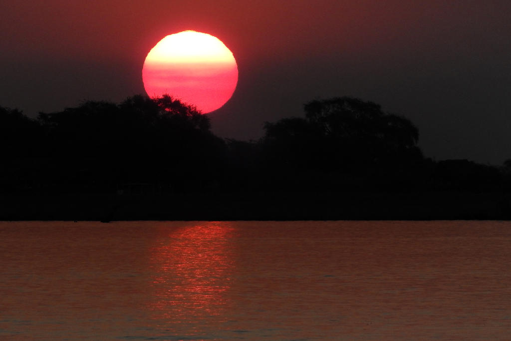 Chobe River sunset 2 - Botswana
