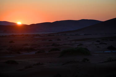 First light at Sossusvlei - Namibia by wildplaces