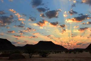 Sunrise in Damaraland 3 - Namibia