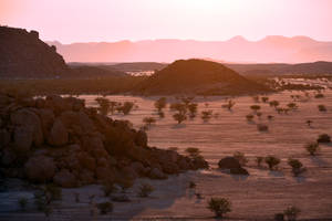 Soft sunset 1 - Damaraland by wildplaces