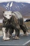 Polar bear sculpture - Svalbard