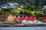 Torvik boathouses - Norway