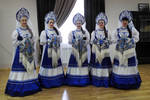 Barentsburg dancers in costume 1 - Svalbard by wildplaces