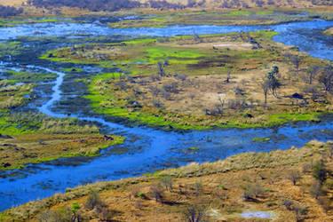 Botswana revisited - flying over Okavavango 2