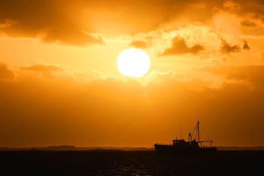 Lord Howe Island - sunset 2