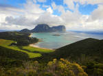 Lord Howe Island - from Kim's Lookout