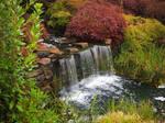 Waterfall 2 - Mayfield Garden, Oberon