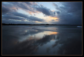 The Pass, Byron Bay - sunset 3 by wildplaces