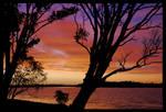 Hastings River sunset 2