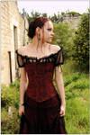 Angel - Carmen in a corset 4