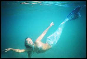Mermaid submerged 1 by wildplaces