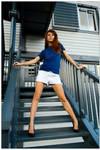 Marie - blue steps 1