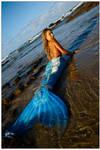 Mermaid in shallows 1