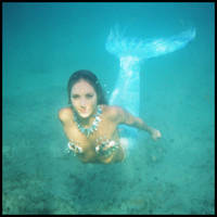 Mermaid - submerged 3 by wildplaces
