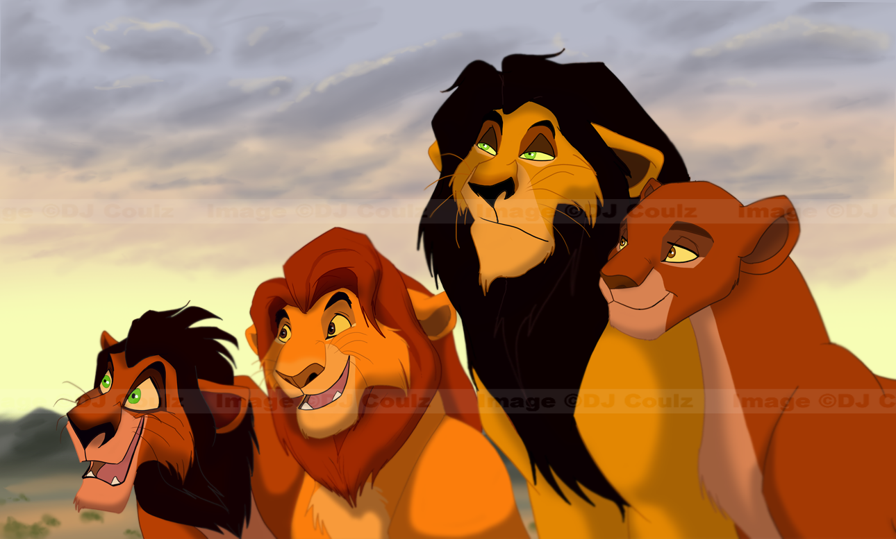P.O The Lion King Family_by_DJCoulzAnimalsOnly