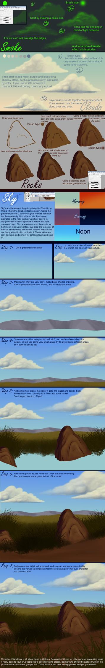 Giant Background Tutorial by DJCoulzAnimalsOnly